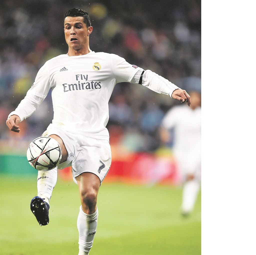 TOP OF THE WORLD Real Madrid's talisman, Cristiano Ronaldo, has hit top form. Picture: Mike Hewitt / Getty Images