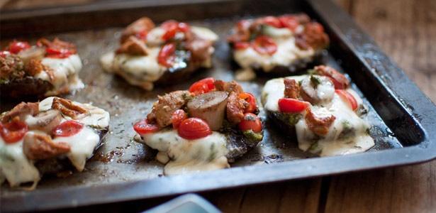 recipe, mushrooms,braai