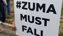 From #ZumaMustFall to ANC praises - Freedom Day a mixed bag