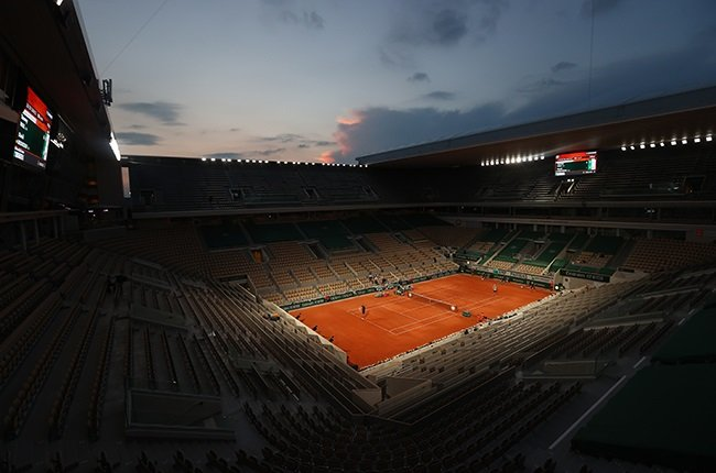 A general view of Court Philippe-Chatrier at Roland Garros. (Photo by Julian Finney/Getty Images)