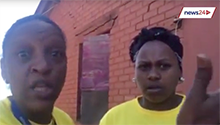 WATCH: 'We were DA people but the ANC is helping us'