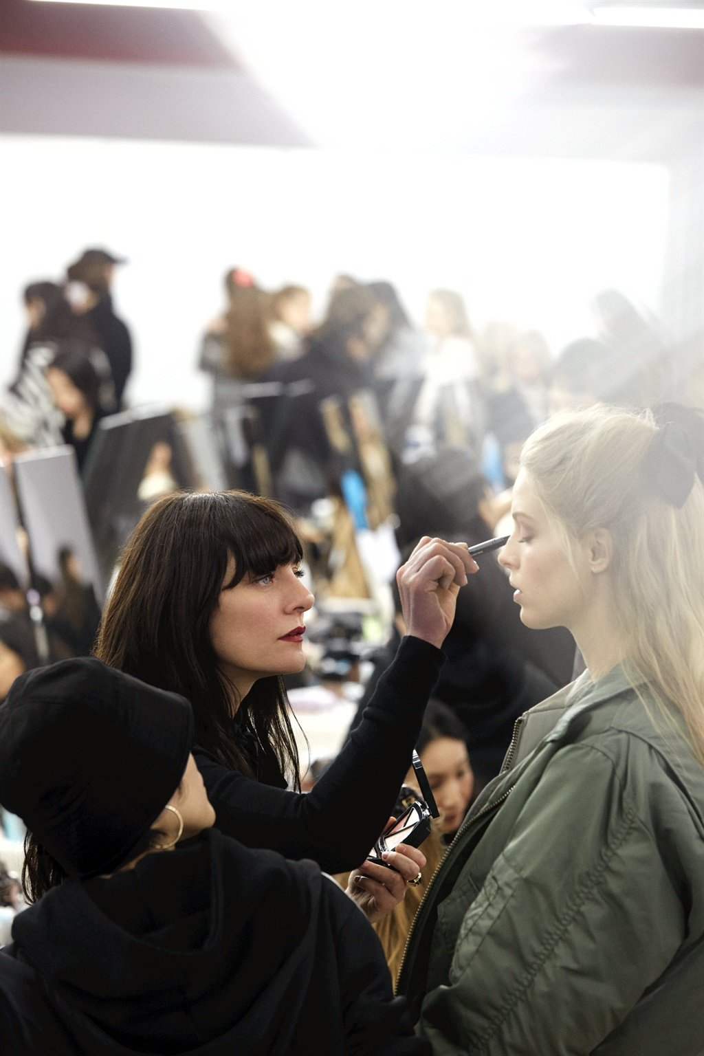 chanel makeup artist Lucia Pica