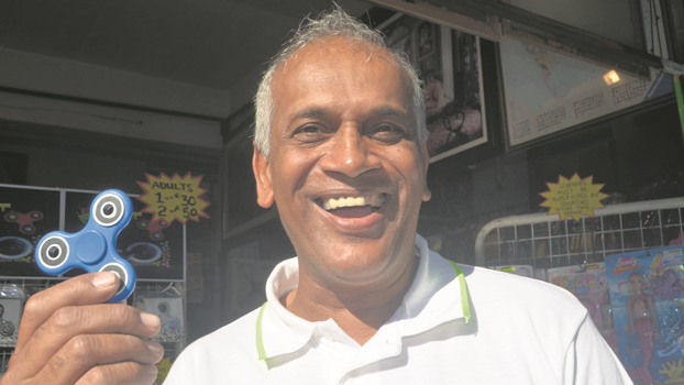 Durban toy seller, Sanjiv Fulchand, who sold 4?000 fidget spinners in the first four days of the Royal Show, said the gadget was by far the best selling toy he has ever encountered.