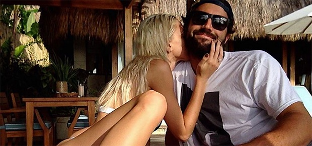 Brody Jenner and his model girlfriend Kaitlynn Carter are engaged. (Screengrab: Instagram/@kaitlynn_carter)