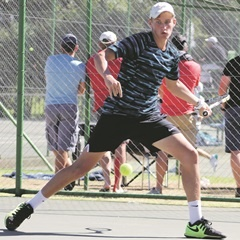 RISING STAR: Bertus Kruger put SA on the map at the French Open junior tournament. (BLD Communications)