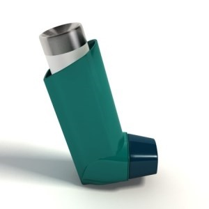 Asthma medication delivered by inhaler