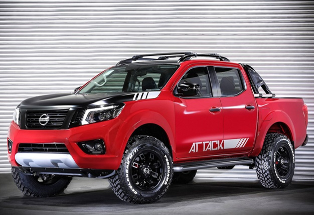 The ultimate double cab? Nissan's Navara ready to Attack ...