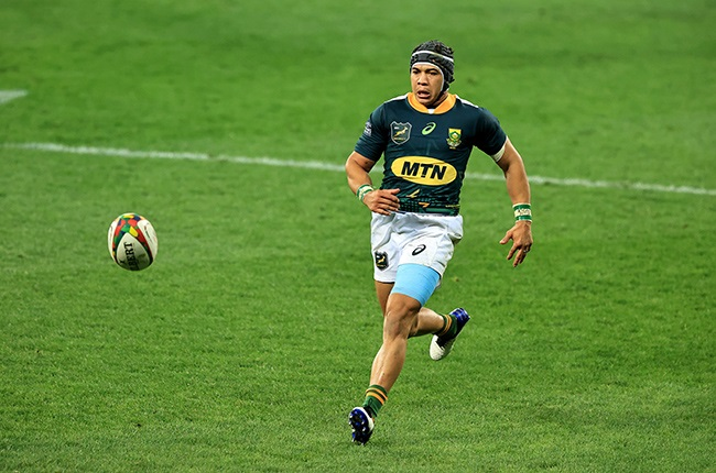 Cheslin Kolbe. (Photo by David Rogers/Getty Images)