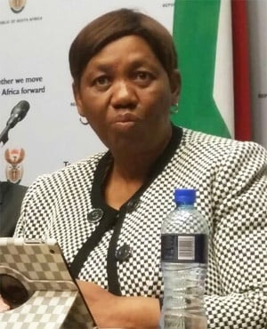 Basic Education Minister Angie Motshekga (Jenni Evans, News24)