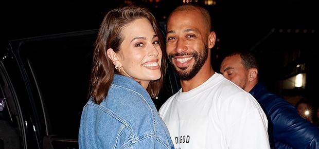 NEW YORK, NY - APRIL 22:  Ashley Graham and Justin