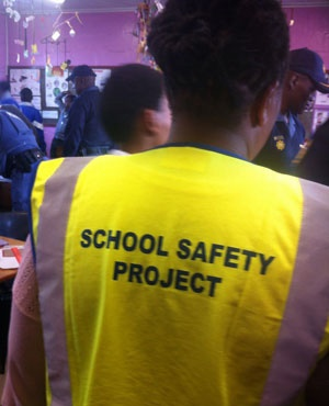 School safety officers and social worker joined surprise search for weapons and drugs. (File)