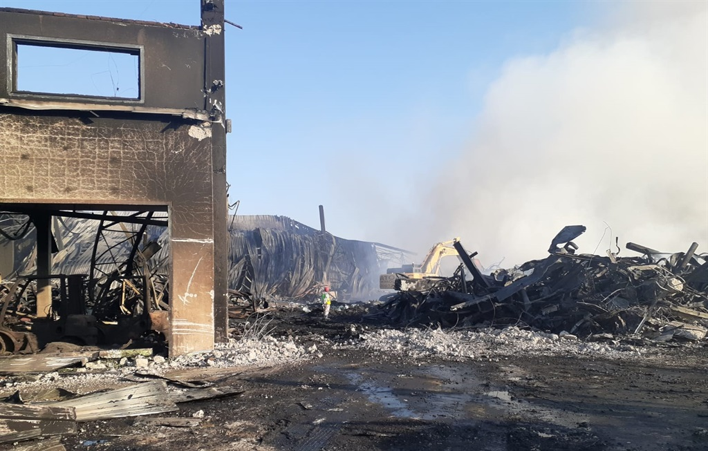 The UPL Chemical Plant in Cornubia was torched during to the unrest in July.