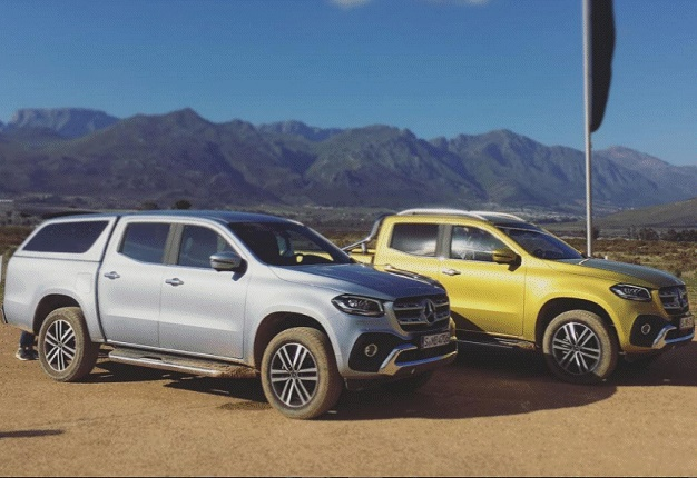 2018 mercedes benz x class price. beautiful mercedes mercedesbenz has unveiled its new xclass bakkie at a global twoday debut  in cape town image wheels24  sean parker in 2018 mercedes benz x class price d