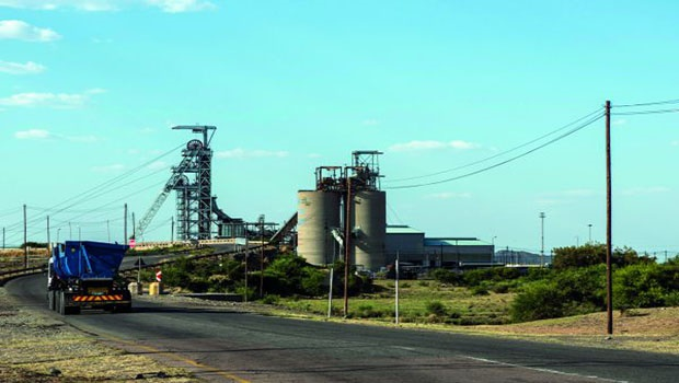 The Marikana platinum mine operated by Lonmin, in Marikana.