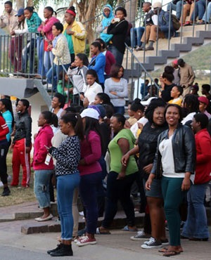 Fort Hare students.
