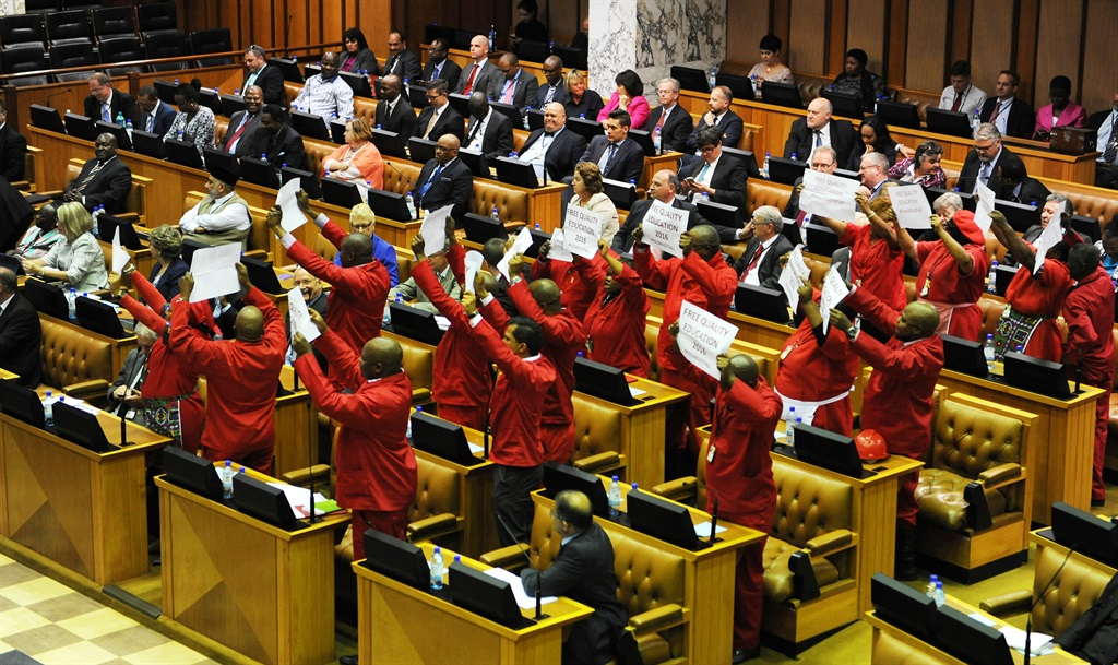 """A senior leader who spoke on condition of anonymity said the EFF had a problem with members """"who are just reactionary and lack proper understanding of party policies"""". Picture: Leánne Stander"""