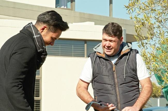 Professional golfer: Keith Horne.