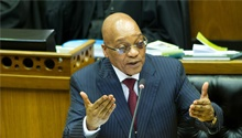 Zuma doesn't owe Maimane an explanation, says ANC spokesperson