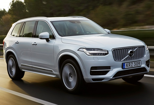<B>CAR OF THE YEAR GOES HYBRID:</B>Volvo's XC90 T8 Twin Engine received the hybrid treatment. Here are a few pictures of the SUV. <I>Image: QuickPic</I>