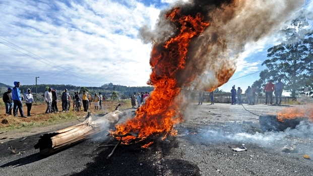 Residents living in Sweetwaters took to the streets last week when an electricity crisis hit Msunduzi.