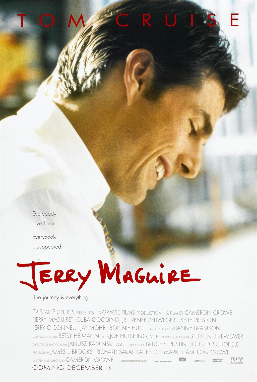 the failures and successes of cameron crowes movie jerry maguire Comments transcription 2009 national conference program.