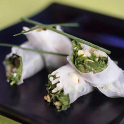 Rice paper Thai wraps