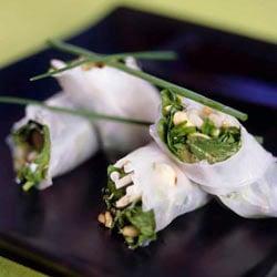 Rice paper Thai wraps