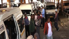 WATCH: Minibus taxi drivers' angst over fuel hike