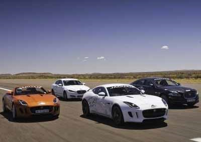 <b>THE GANG'S ALL HERE:</b> Africa's longest commercial airport runway and the speed traps are thee to check of fast you go not how much you'll owe! <i>Image: Jaguar</i>