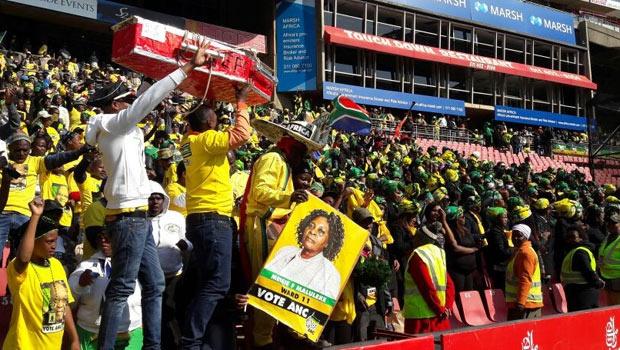 ANC rally at Ellis Park stadium. Picture: Mpho Raborife