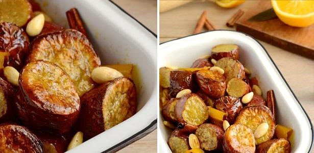recipe, sweet potatoes, roast, oranges, honey