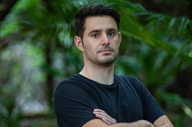 Dino Paulo on Survivor SA: Immunity Island.