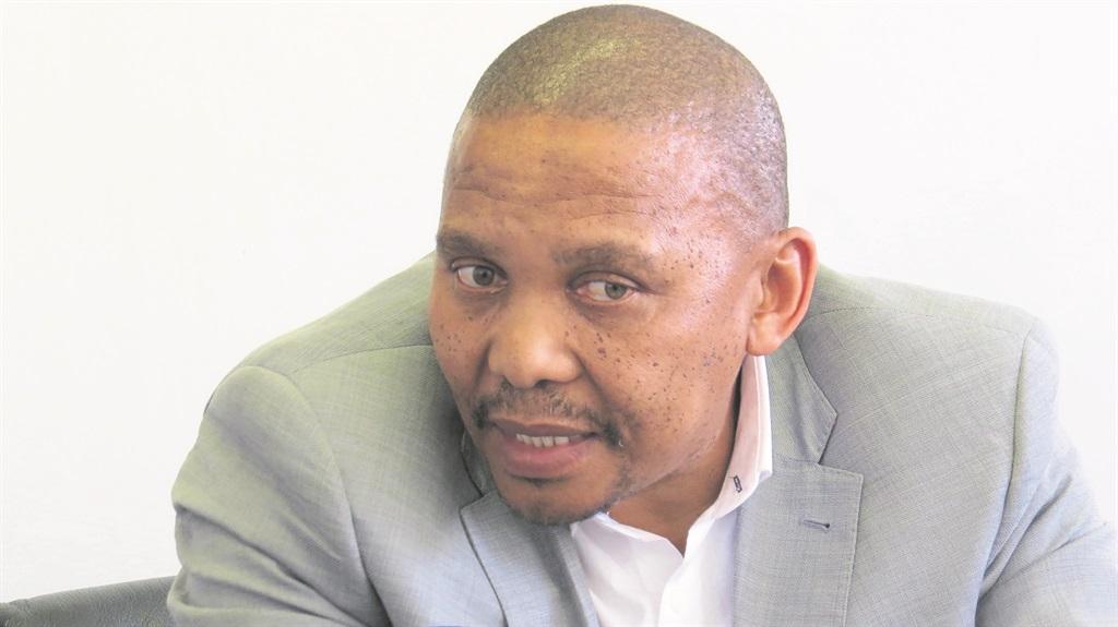 DEPUTY MINISTER OF LABOUR, Nkosi Phathekile Holomisa.  Photo: Boipelo Mere