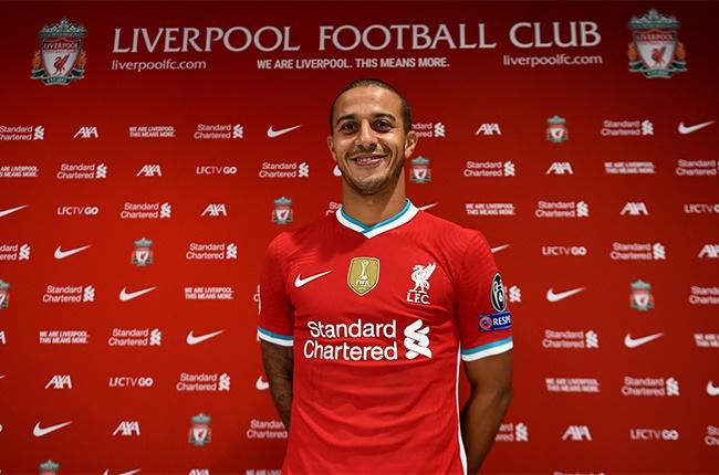 New Liverpool signing Thiago Alcantara.