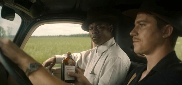 Jason Mitchell and Garrett Hedlund in a scene from Mudbound. (AP)