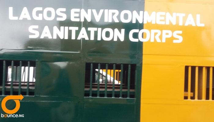 lagos environmental Sanitation corps.