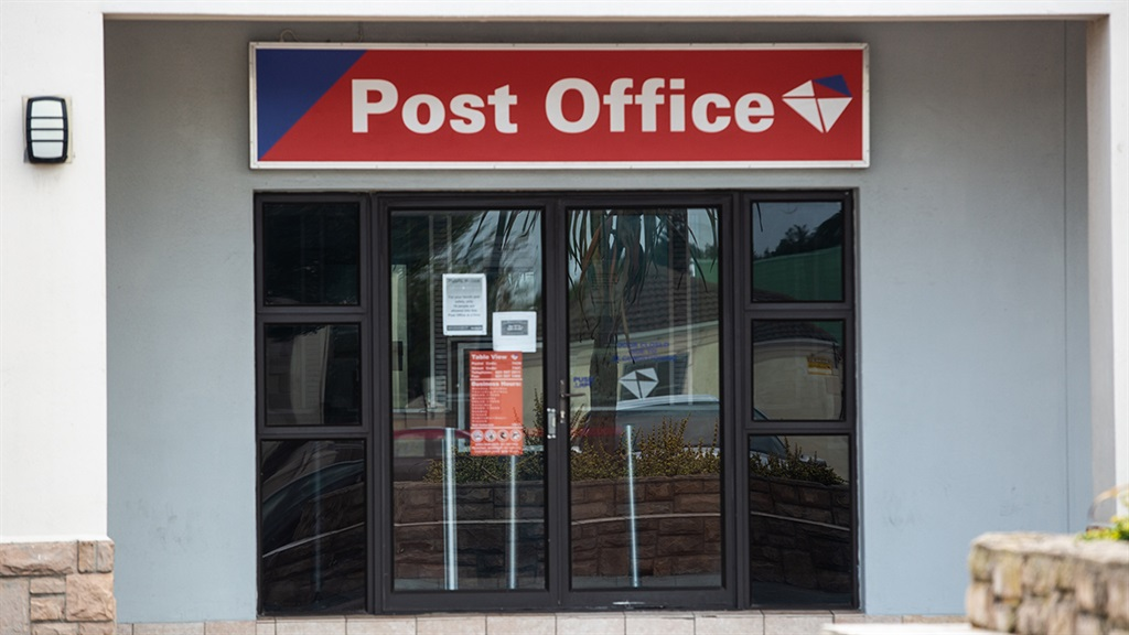 A post office branch.