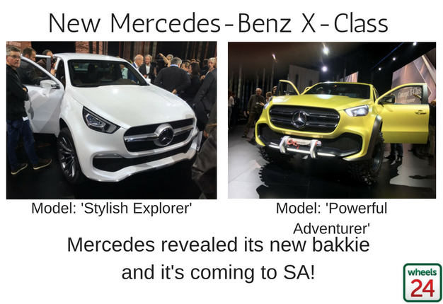 Olx Cars And Prices Vw >> Mercedes' SA-bound X-Class bakkie: Here's all you need to know | Wheels24