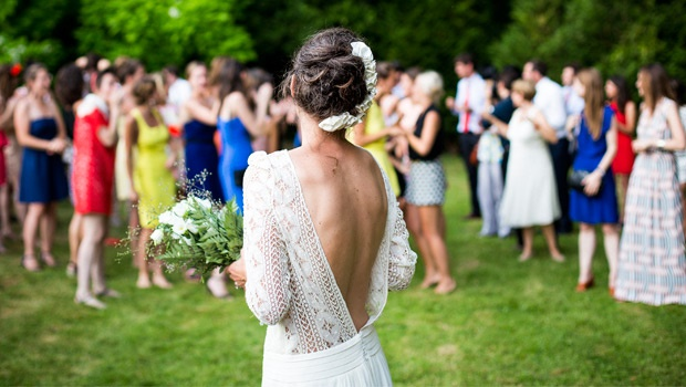 How to wear white to someone else's wedding