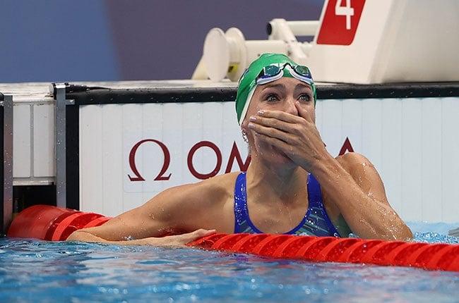 South African swimmer Tatjana Schoenmaker