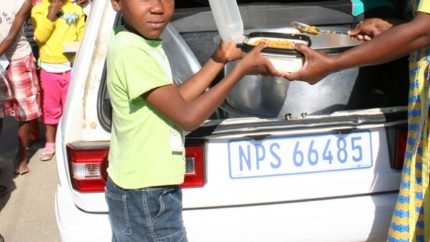 2.2 million indigent pupils are catered for by the National School Nutrition Programme (NSNP).