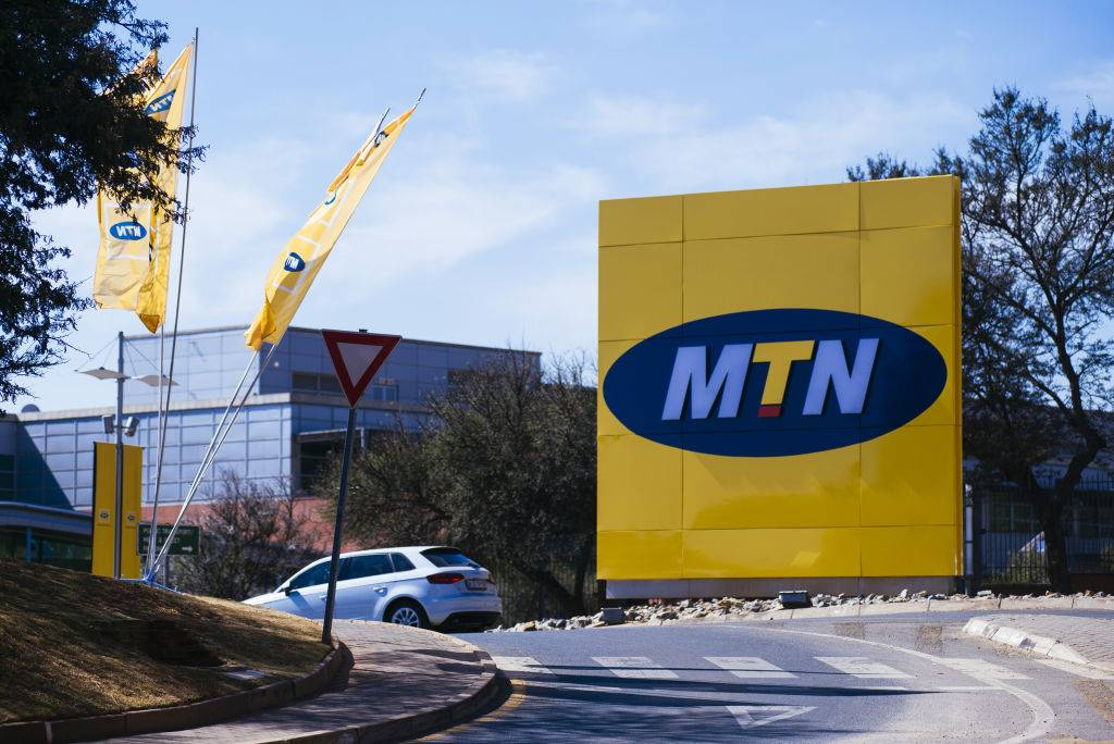 MTN's head office in Johannesburg. Photo: Getty Images