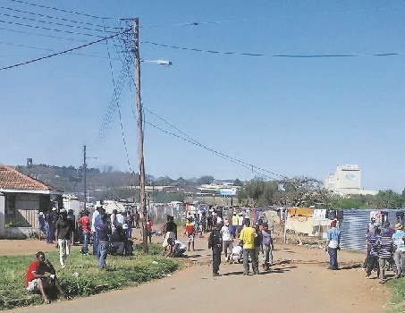 Illegal electricity cables and connections has caused a rift between the formal and informal residents living in The Village and Jika Joe area.