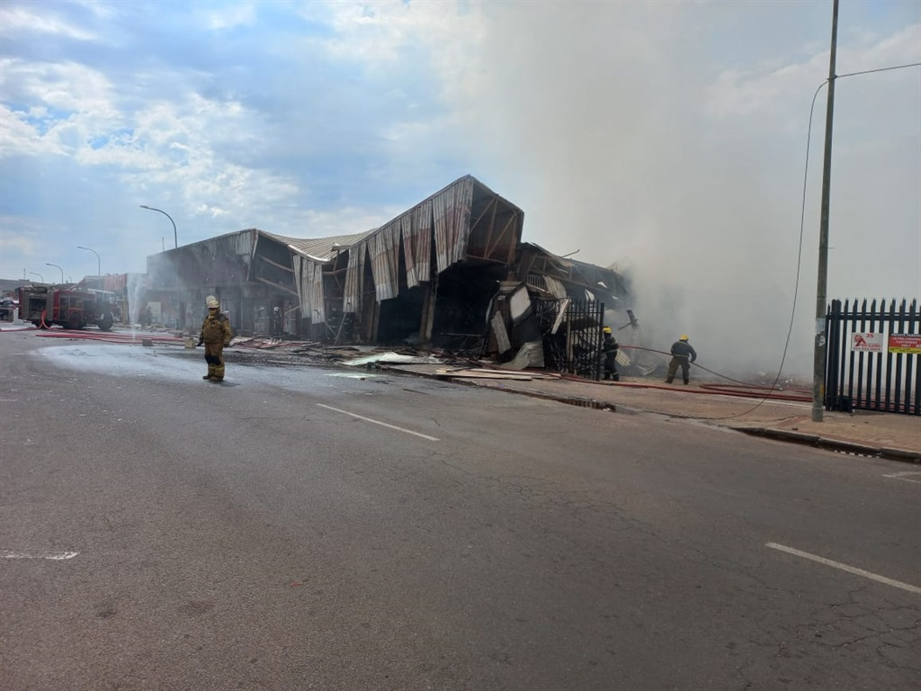 Man dies after wall collapses on his car during shop explosion in Mpumalanga - News24