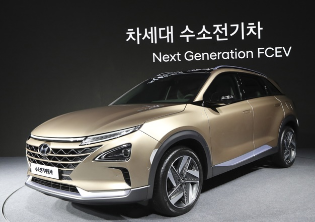 Hyundai unveils new fuel cell suv with extended range for Lee hyundai motor finance