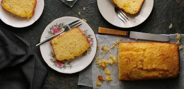 cupcakes & couscous, recipes, loaf, lemon, saffron