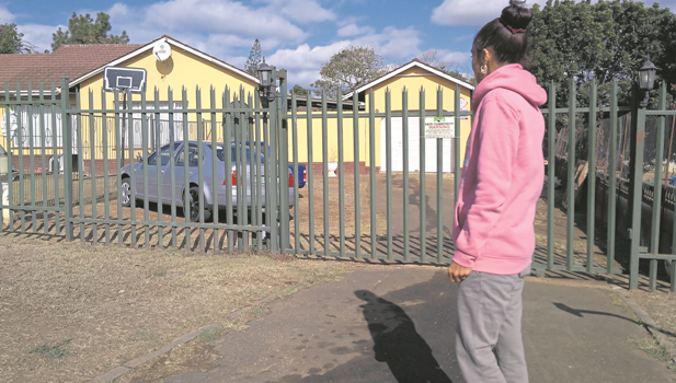Citra Chetty stands outside her Bisley Heights home, which was burgled three times in the last four weeks.