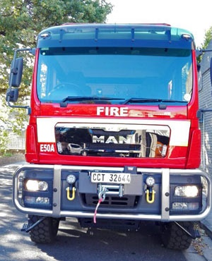 City of Cape Town fire tender. (Wallace du Plessis,News254)