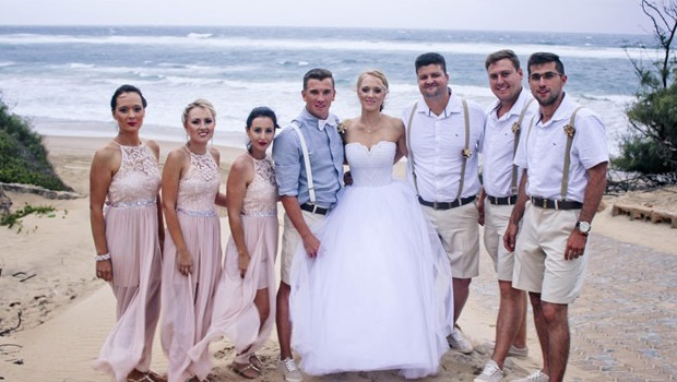 Real SA wedding: Carien & Tinus