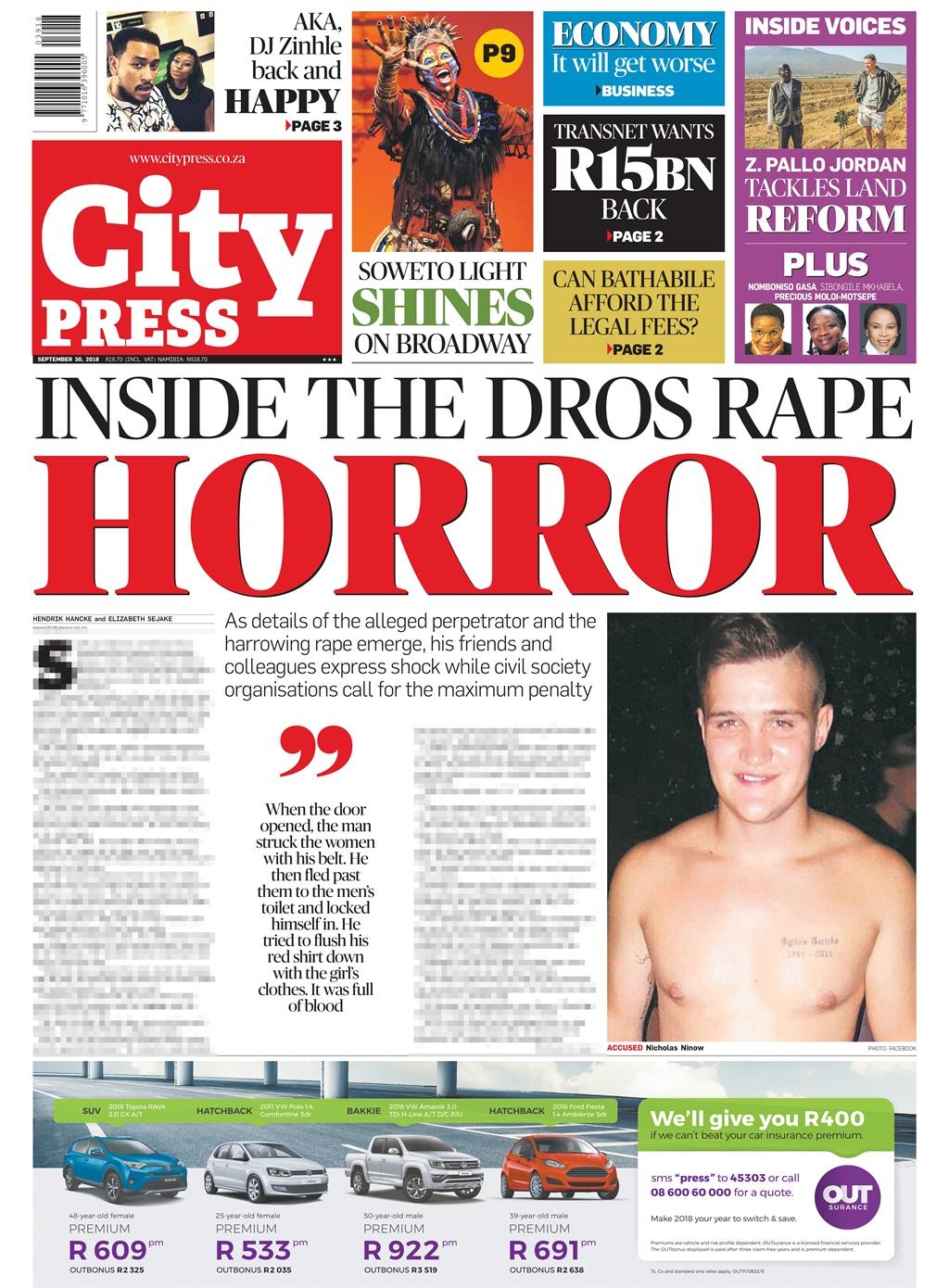 Your Sunday headlines in City Press | City Press